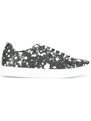 Christian Dior Homme Logo Print Sneakers Black