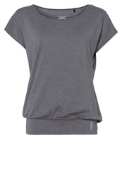 Venice Beach Ria Basic Tshirt Asphalt Dark Gray