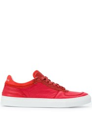 Stone Island Low Top Sneakers Red