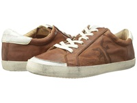 Frye Dylan Low Lace Cognac Washed Smooth Vintage Women's Lace Up Casual Shoes Brown