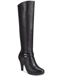 Alfani Viollah Tall Dress Boots Only At Macy's Women's Shoes Black
