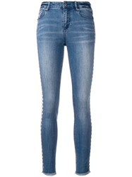 Armani Exchange Studded Jeans Blue