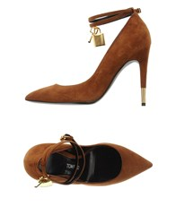 Tom Ford Footwear Courts Women Brown