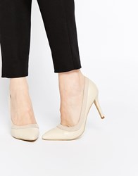 Ax Paris Marly Heeled Pumps Nude