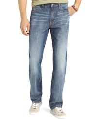 Izod Relaxed Fit Jeans Patriot Blue