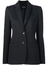 Sophie Theallet Pique Relaxed Jacket Black