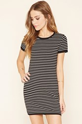 Forever 21 Stripe Knit Bodycon Dress