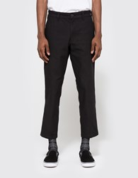 Obey Carpenter Flooded Pant Black