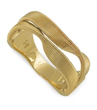 Marco Bicego Yellow Gold Marrakech 2 Strand Twisted Ring
