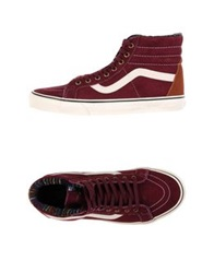 Vans High Tops And Trainers Mauve