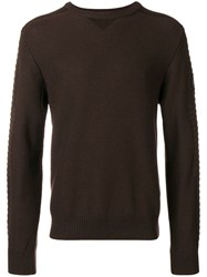 Canada Goose Knitted Jumper Brown