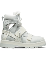 Hood By Air. White Avalanche Boots Hypebeast Store.