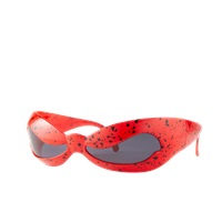 Jeremy Scott Spotted Wave Sunglasses