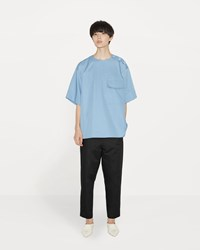 Marni Cotton Linen Pull On Trouser