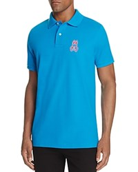 Psycho Bunny Alto Regular Fit Pique Polo Shirt Spartan Blue