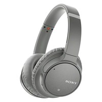 Sony Wh Ch700n Noise Cancelling Wireless Bluetooth Nfc Over Ear Headphones With Mic Remote Grey