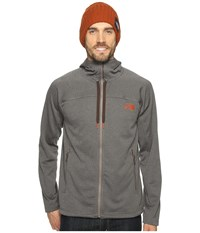 The North Face Needit Hoodie Falcon Brown Heather Falcon Brown Heather Men's Sweatshirt Gray