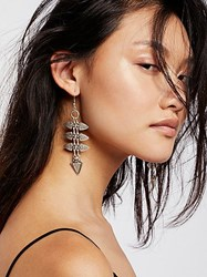 Free People Ladder Metal Earrings By