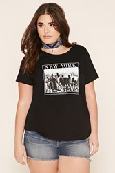 Forever 21 Plus Size New York Graphic Tee