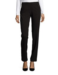 T Tahari Bayleigh Straight Leg Dress Pants Black