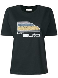 Bally Auto Print T Shirt Black