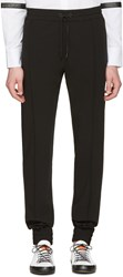 Pyer Moss Black Classic Ribbed Trousers