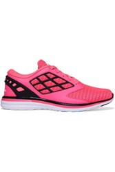 Athletic Propulsion Labs Joyride Mesh And Faux Leather Sneakers Pink
