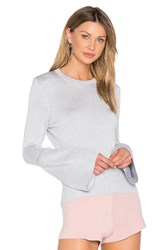 Helfrich Janis Crew Neck Sweater Gray
