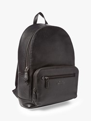 Ralph Lauren Polo Leather Backpack Black