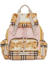 Burberry The Medium Rucksack In Archive Scarf Print Multicolour