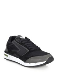 Brooks Fusion Athletic Sneakers Grey Black