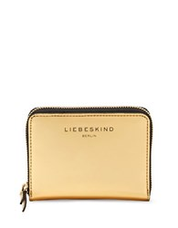 Liebeskind Connyf7 Leather Wallet Gold