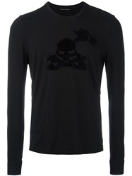 Ermanno Scervino 'Bio' Longsleeved T Shirt Black