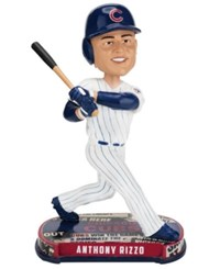 Forever Collectibles Anthony Rizzo Chicago Cubs Headline Bobblehead Blue