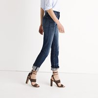 Madewell Rivet And Thread Selvedge Straight Jeans