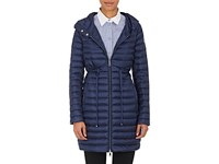 Moncler Women's Barbel Hooded Puffer Coat Navy