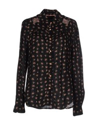 Tommy Hilfiger Denim Shirts Shirts Women Black