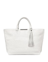 Botkier Ombre Printed Quincy Satchel White