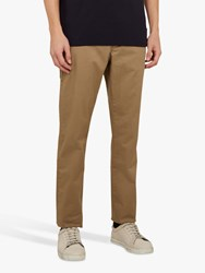 Ted Baker Clenchi Slim Fit Chinos Natural Cream