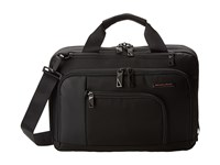 Briggs And Riley Verb Contact Small Brief Black Briefcase Bags