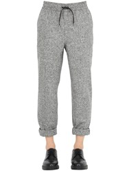 Bernardo Giusti Wool Knickerbocker Jogging Pants