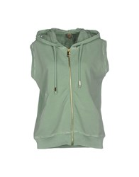 Jijil Topwear Sweatshirts Women Light Green