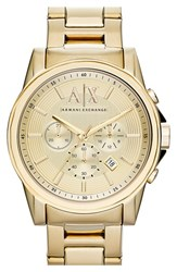 Men's Ax Armani Exchange Chronograph Bracelet Watch 45Mm