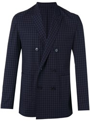 3.1 Phillip Lim Checkered Blazer Blue