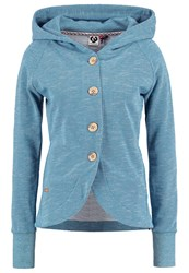 Ragwear Ava Tracksuit Top Blue Melange Mottled Light Blue