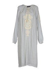 Antik Batik Dresses 3 4 Length Dresses Women Ivory