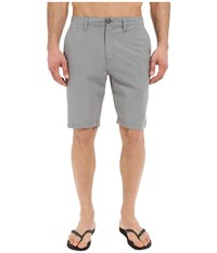 Volcom Snt Static Hybrid Shorts Gun Metal Men's Shorts Gray