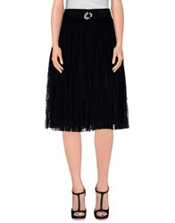 Elisabetta Franchi Skirts Knee Length Skirts Women Black
