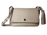 Elizabeth And James Cynnie Flap Crossbody Dove Grey Cross Body Handbags Gray