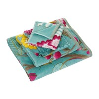 Pip Studio Floral Fantasy Towel Light Petrol Hand Towel
